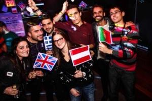 """Euphoria"" Eurovision Night in New York on November 16th. Photograph courtesy of Euphoria Facebook page"