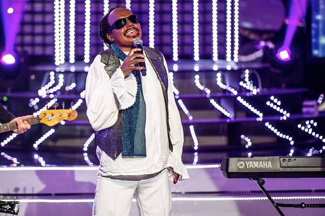 Ott Lepland as Stevie Wonder. Photo : TV3