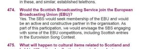 Scottish White Paper on Independence. Photo : BBC