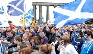 Scotland at Eurovision. Photo : EPA/GRAHAM STUART