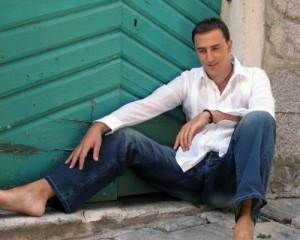 Sergej ćetković - Eurovision 2014 Montenegro. Photo : crvenitepih