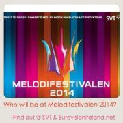Who Will Be At Melodifestivalen 2014. Photo : SVT