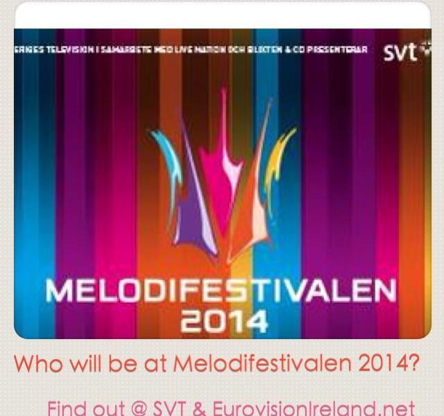 Melodifestivalen 2014. Photo : SVT