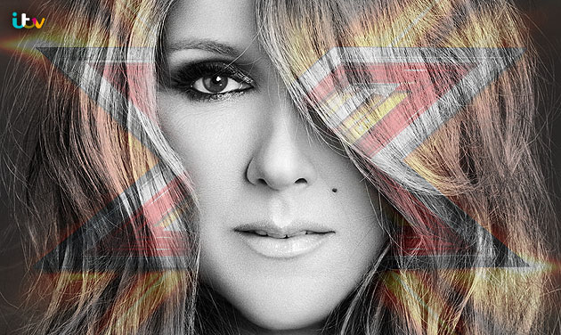 See Celine Dion Pre-Record her X-Factor Uk performance. Photograph courtesy of X-Factor Music Lounge