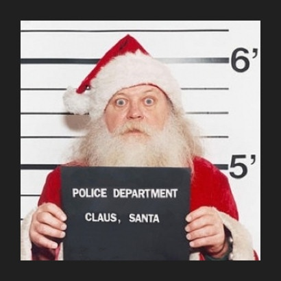 Arrested Santa - Photo artshound