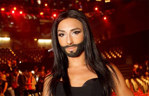 Conchita Wurst. Photo : Conchita Wurst Facebook