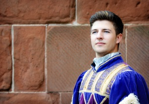 JOSH JAMES as Prince Charming. Photo : theatersevern.co.uk
