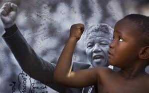 Nelson Mandela Celebrated by Eurovision. Photo : AP