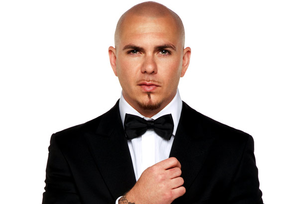 Pitbull and Eurovision Act. Photo : Wallpines