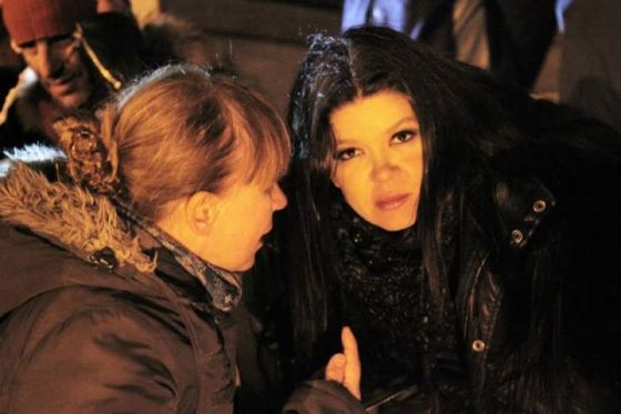 Ruslana in Maidan Square. Photograph Ruslana Official Facebook
