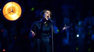 Ellen Benediktson at Melodifestivalen. Photo: Olle Kirchmeier / SVT