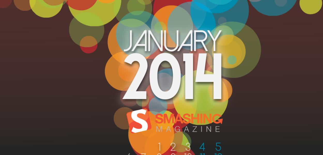 January 27th to February 2nd Eurovision 2014 Calendar. Photo Smashingmagazing.com