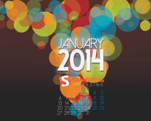 January 13th to January 20th Eurovision 2014 Calendar. Photo Smashingmagazing.com