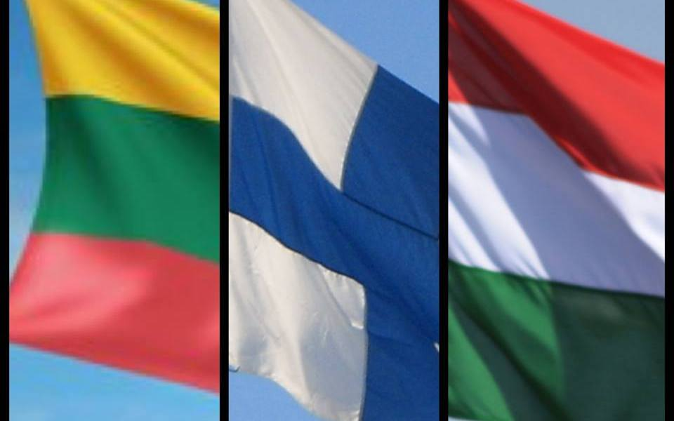 Lithuania-Finland-Hungary Eurovision 2014. Photo : Wikipedia