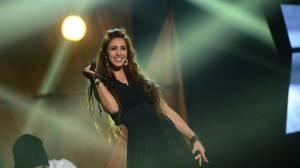Mahan Moin at Melodifestivalen 2014. Photo : Olle Kirchmeier/SVT