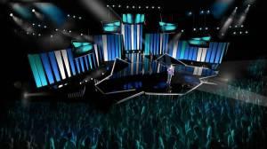 Melodifestivalen Stage 2014. Photo : Viktor Brattstorm