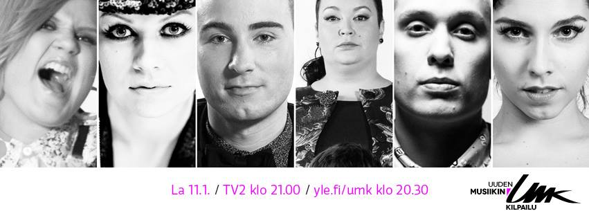 Finland UMK 2014 - Heat 1. Photo : YLE