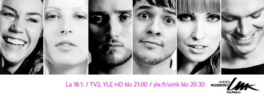 Finland UMK 2014 - Heat 2. Photo : YLE
