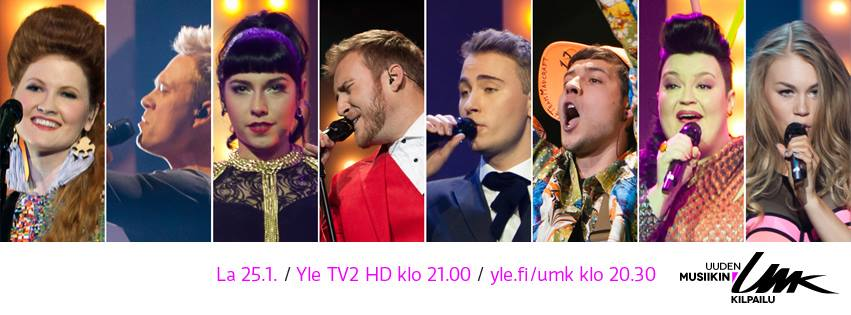 UMK 2014 Semi Final. Photo : YLE