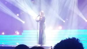 Amber. Photo : Eurovision Ireland