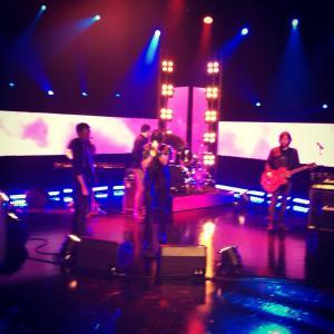 Andrew Mann in Rehearsals. Photo : Andrew Mann Facebook