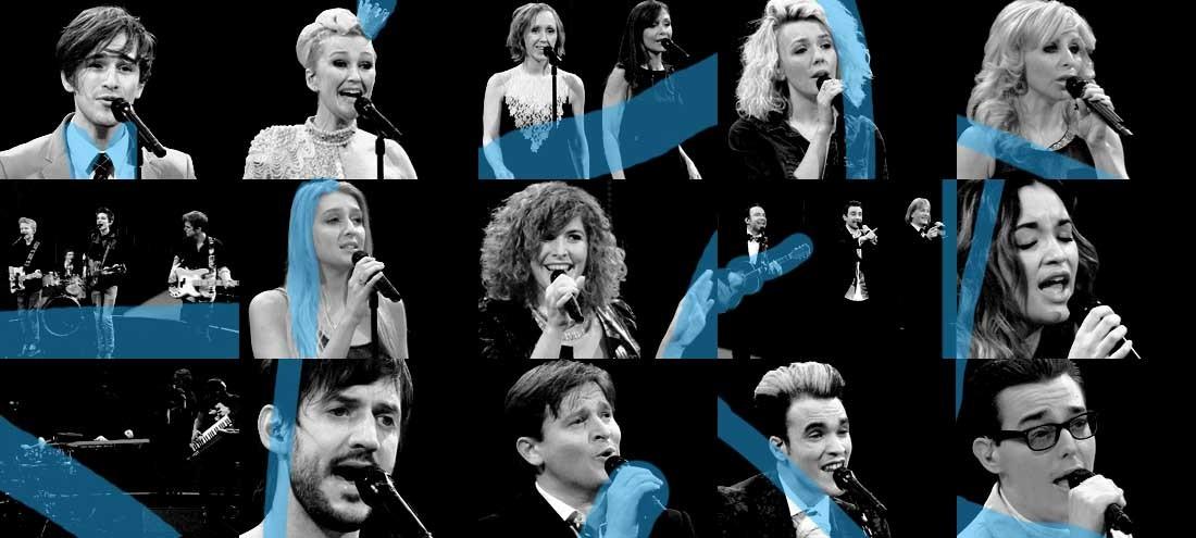 Belgium Second Casting for Eurosong 2014. Photo : Een
