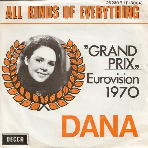 "Dana ""All Kinds Of Everything"". Photo : cdandlp.com"