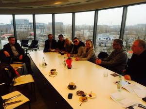 Donatan and Cloe meet TVP to Discuss Eurovision 2014. Photo : Donatan Facebook