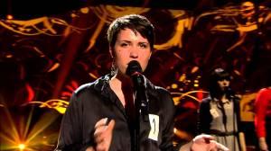 Ellen Benediktson at Eurovision 2013. Photo : YouTube