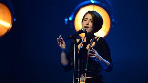 "Ellen Benediktson ""Songbird"". Photo: Olle Kirchmeier / SVT"