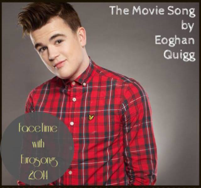 Eoghan Quigg - The Movie Song. Photo : RTE