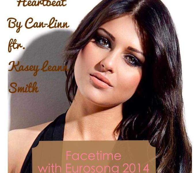 Facetime with Eurosong 2014 - Can-Linn Featuring Kasey Leann Smith. Photo : Kasey Leeann Smith Facebook