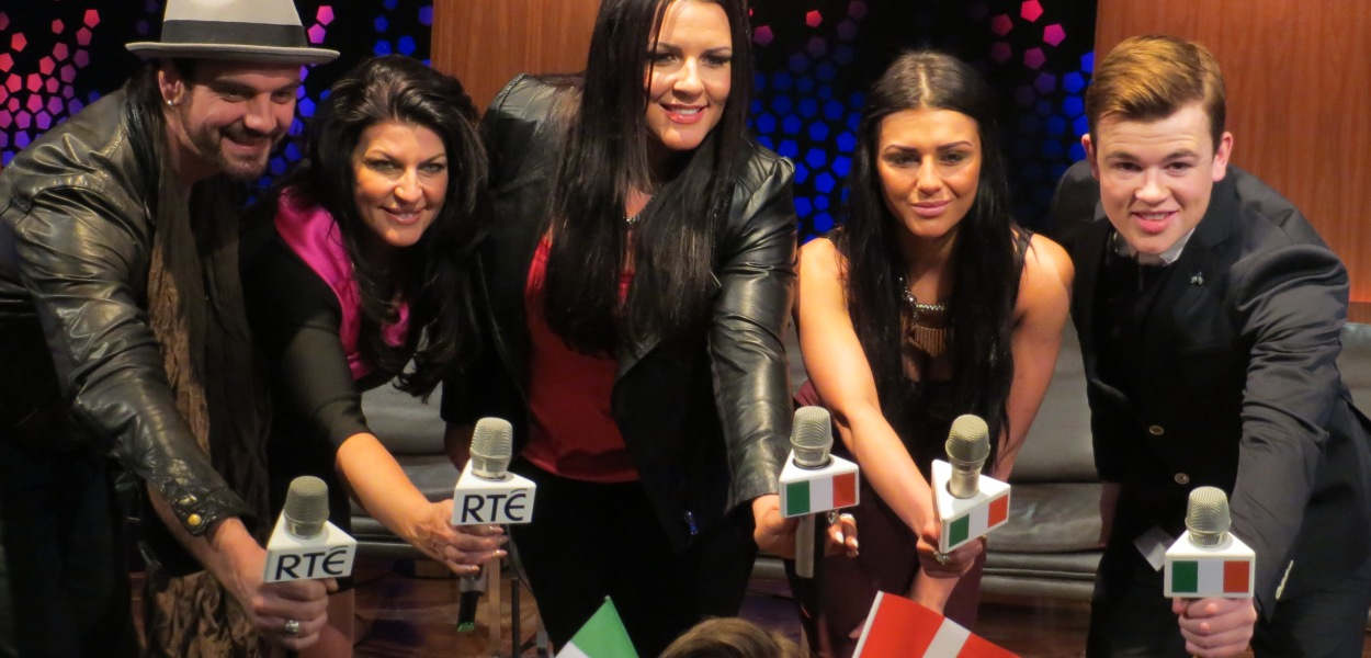 Eurosong Live Rolling Blog. Photo : Eurovision Ireland