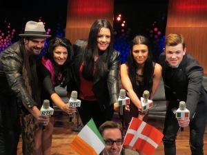 Eurosong Live Rolling Blog. Photo : Eurovision Ireland