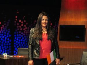 Laura O'Neill. Photo : Eurovision Ireland