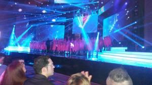 Maltese Opening Act. Photo : Eurovision Ireland