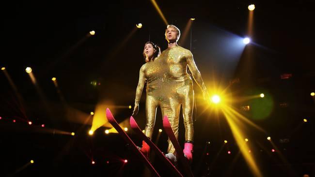 Nour El Refai and Bjorn Gustafsson. Photo Niklas Lindman - SVT