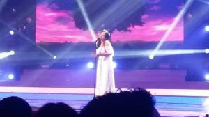 Pamela. Photo Eurovision Ireland