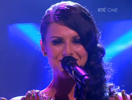 "Can-Linn Featuring Kasey Smith - ""Heartbeat"". Photo : RTE"