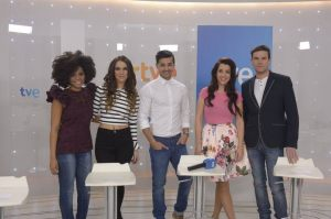 Spanish Finalists for Eurovision 2014 Selection. Photo : TVE