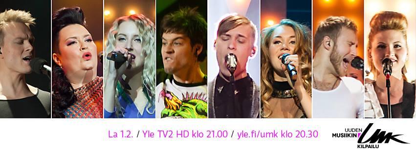 UMK 2014 Grand Final. Photo : YLE