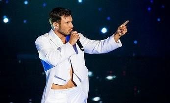 Vaidas Baumila - Photo LRT Eurovision 2014