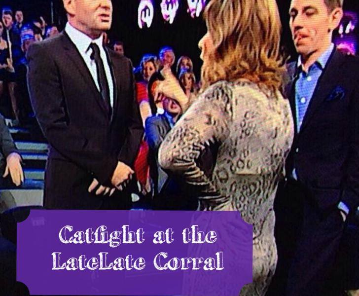 Catfight at the Late Late Corral. Photo : RTE