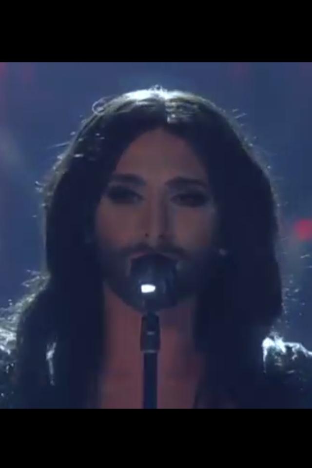Conchita Wurst Live. Photo : ORF