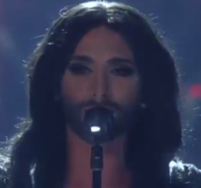 Conchita Wurst Live. Photo : ORF