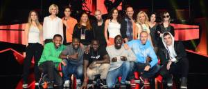 Melodifestivalen 2014 Finalists. Photo Olle Kirchmeier/SVT