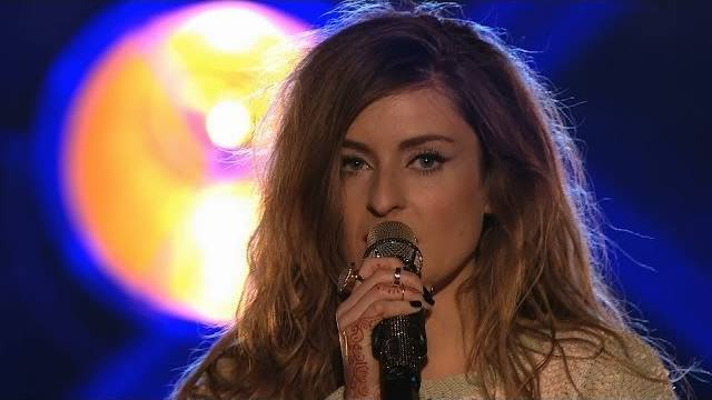 Molly - 12 Points from OGAE Poland. Photo : BBC