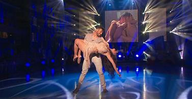 "Ruth Lorenco on ""Come Dancing"". Photo : RTVE"