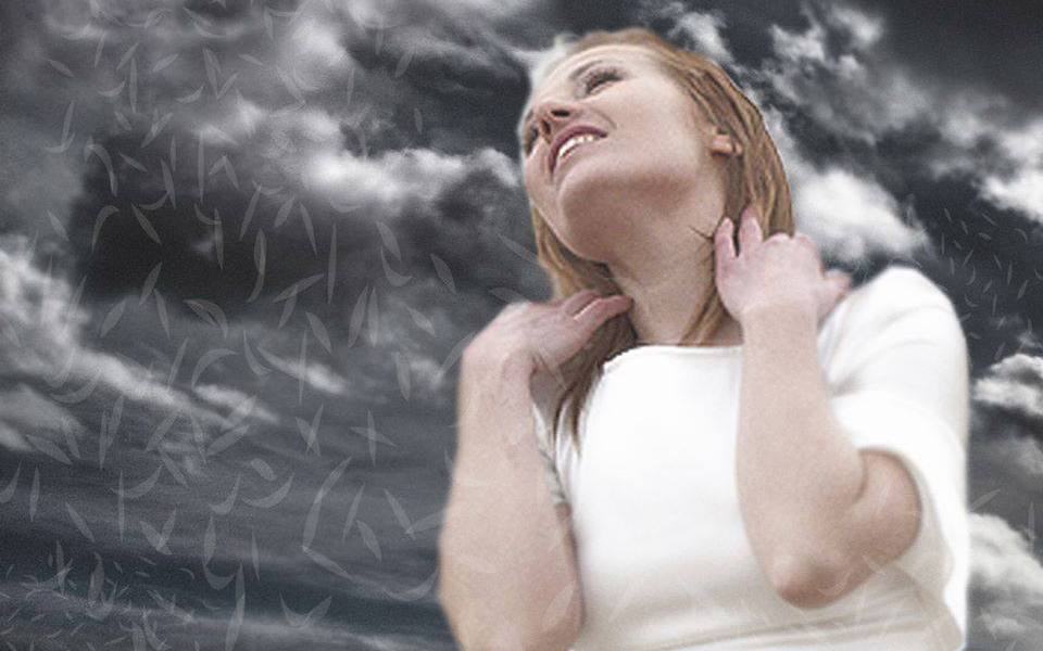 Valentina Monetta - 2014. Photo : Valentina Monetta Facebook