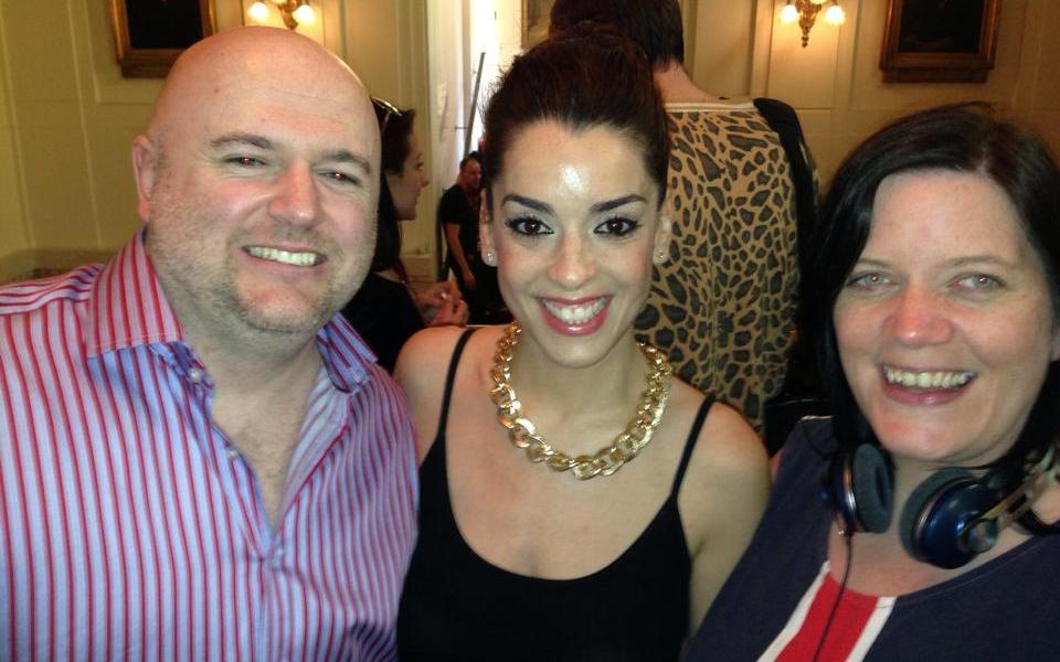 Eurovision Ireland Meets Ruth Lorenzo. Photo : Elaine Dove